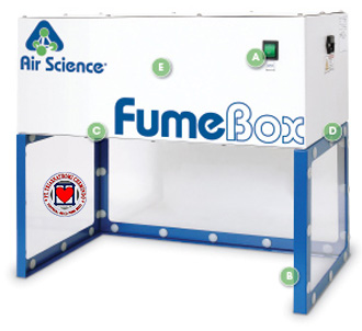 Jual Fume Box Ductless Enclosures TRAP-60H-XL