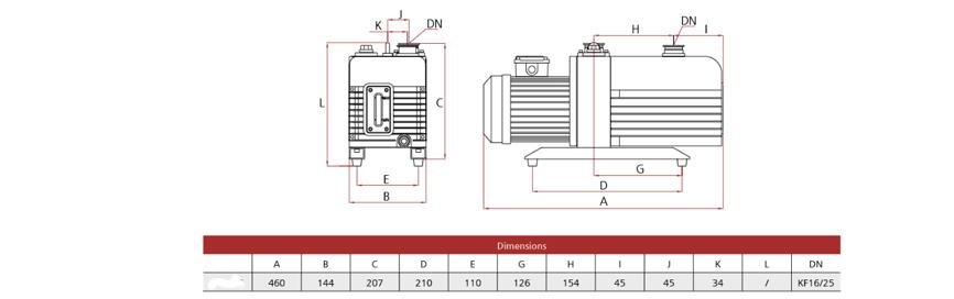Vacuum Pump Series TR-V20